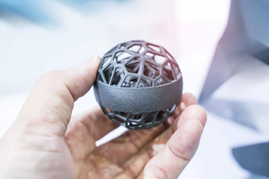 Bionische Strukturen » 3D-Druck Metall