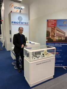 Prototec auf der Messe Formnext 2019