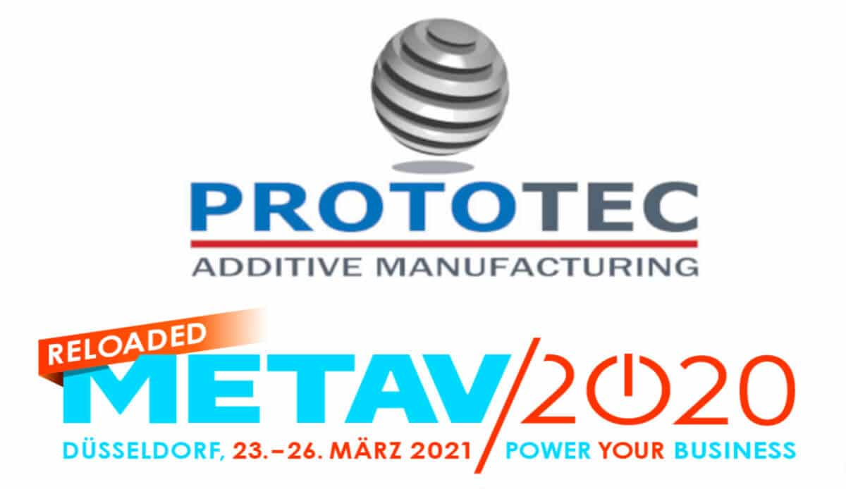 Prototec Metav 2020 reloaded 2021 Duesseldorf