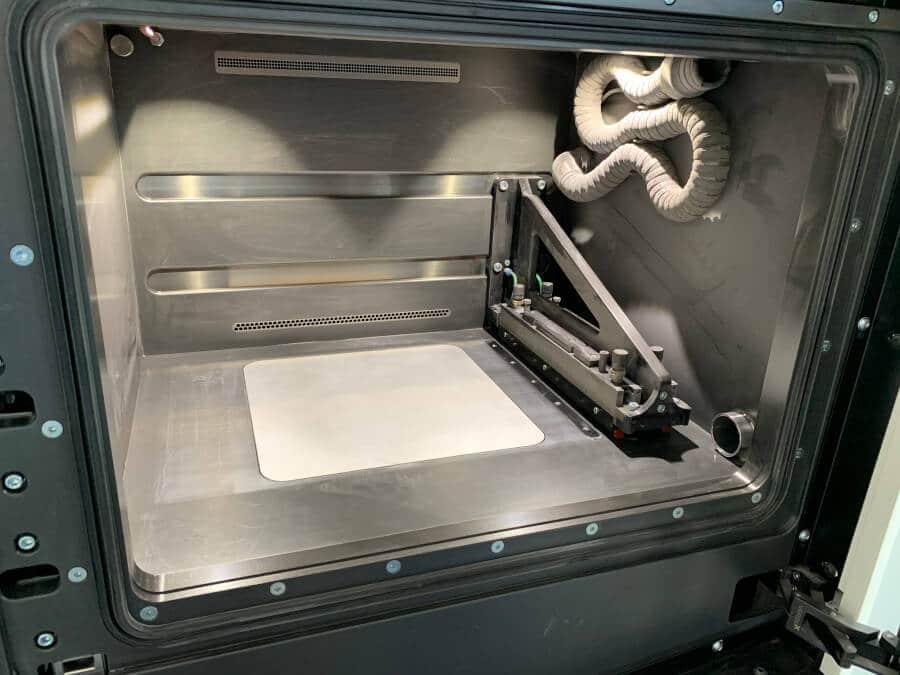 Prototec-Bauraum SLM 3D Drucker Vorbereitung